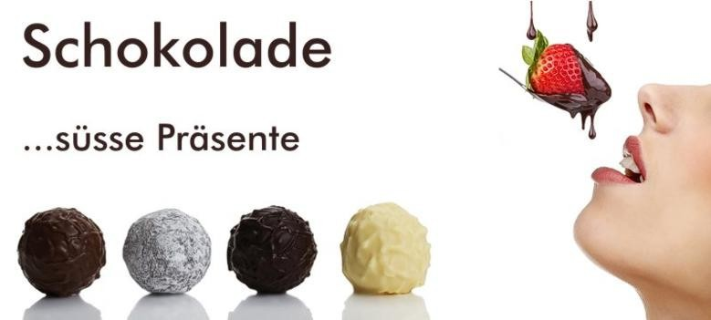 Schokolade & Co ... süsse Präsent Ideen